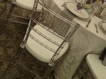Tiffany chair Hire East London